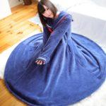 寒(さむ)い冬(ふゆ)におすすめ 「セーラー服(ふく)っぽい毛布(もうふ)」